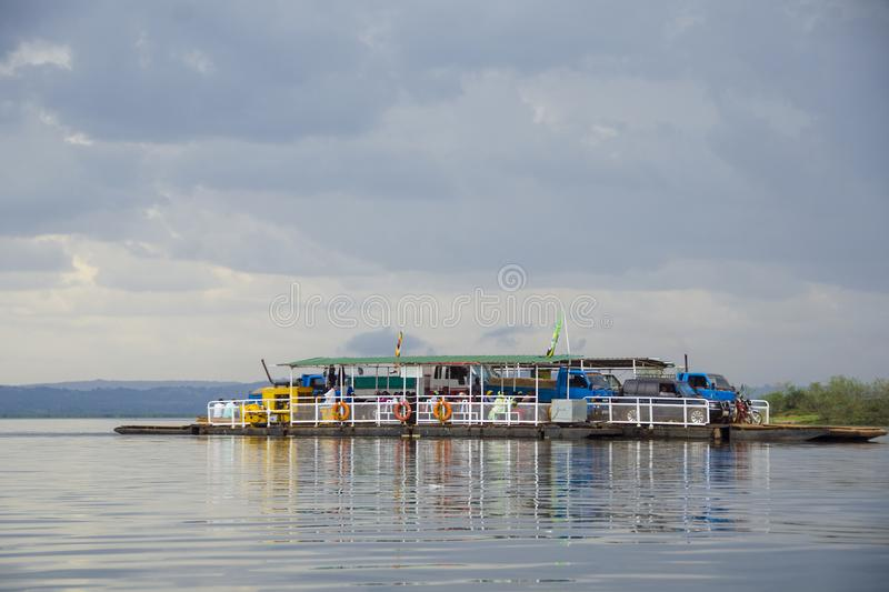 Mabamba ferry royalty free stock photography
