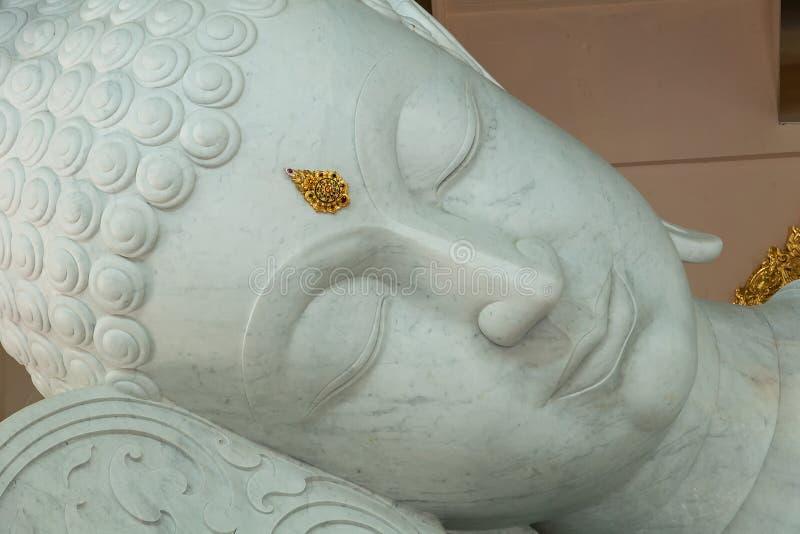 Mable Buddha głowa obraz stock