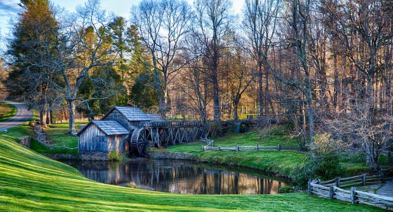 MaBry-Mühle Virginia lizenzfreie stockbilder