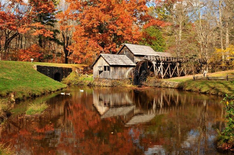 Mabry Mill, Virginia USA stock image