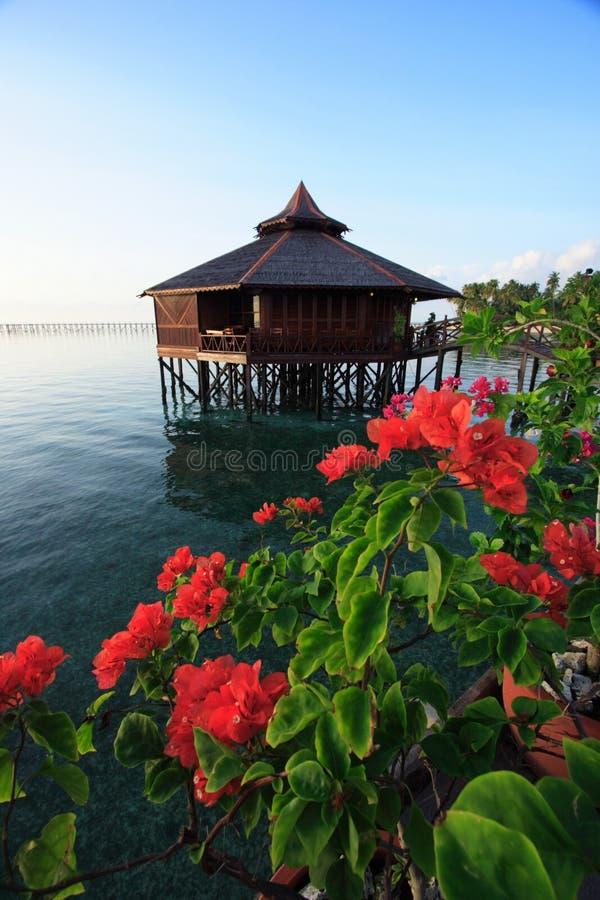 Mabul Insel-Rücksortierung stockfotos