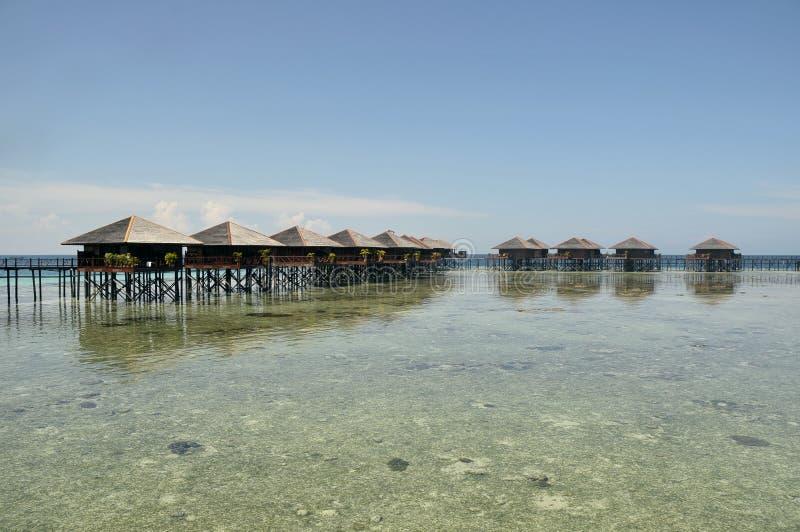 Mabul Insel, Semporna, Sabah lizenzfreie stockbilder