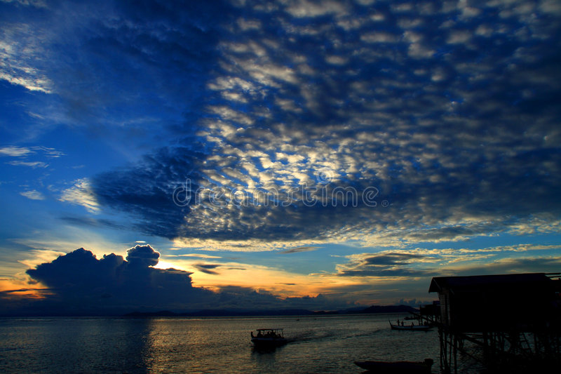 Mabul Island royalty free stock images