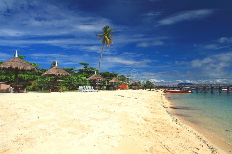 Mabul Island royalty free stock photos