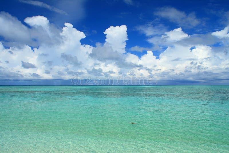 Mabul Island royalty free stock images
