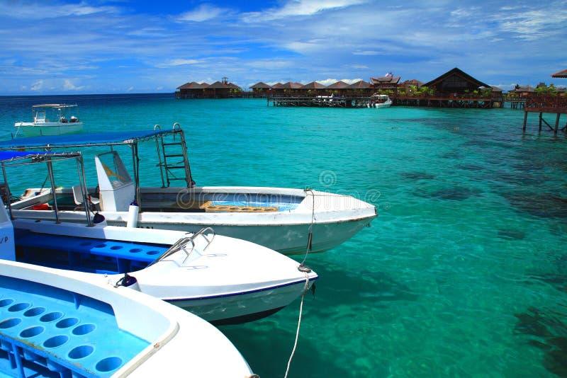Mabul Island stock photo