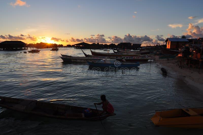 Mabul wyspa obraz stock