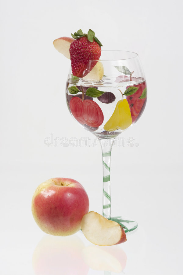 Macédoine de fruits photo libre de droits