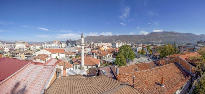 Macédoine, pièce historique d'†d'Ohrid vieille «de la ville - vieux bazar photos libres de droits