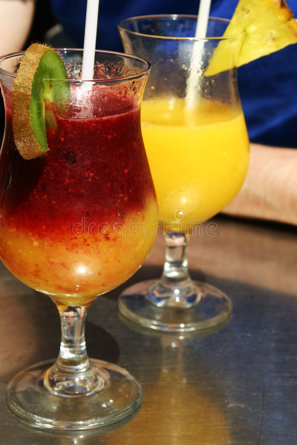 Download Macédoines de fruits photo stock. Image du glace, détente - 739534