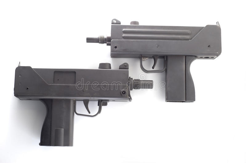 Mac-10 Pair Royalty Free Stock Photos