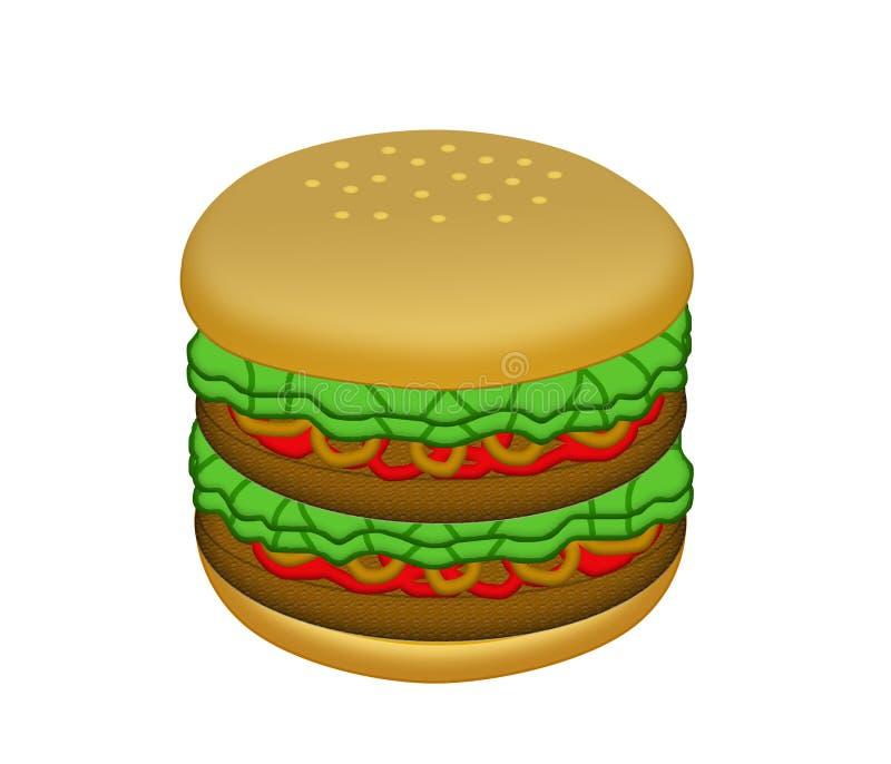 Mac grande ilustración del vector