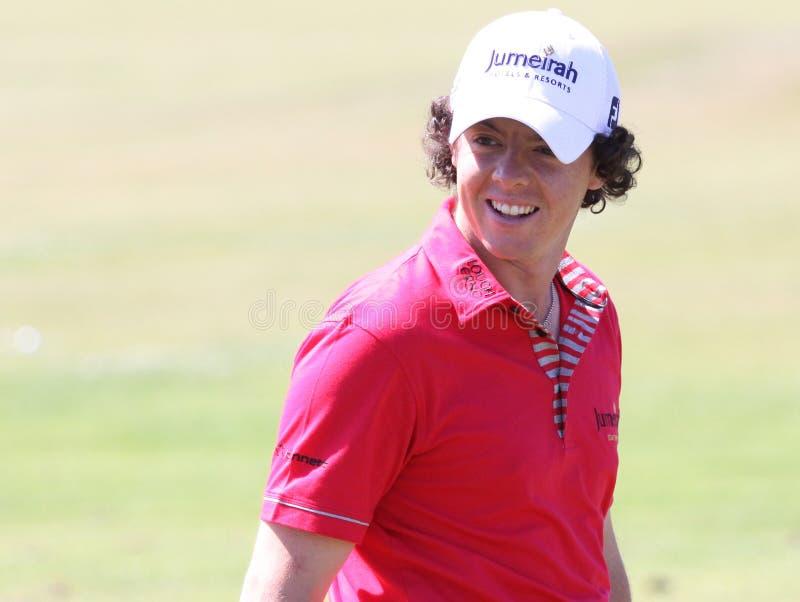 MAC Ilroy van Rory bij golf het Frans opent 2010 stock afbeelding