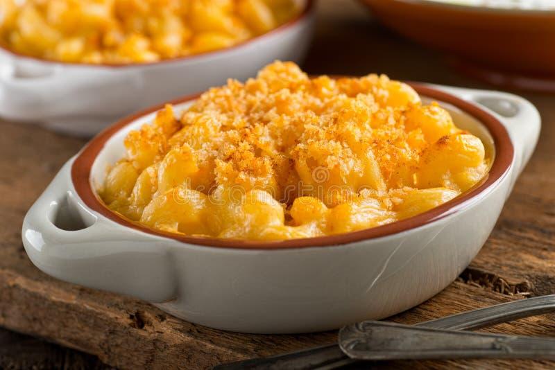 Mac och ost royaltyfri fotografi
