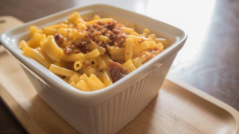 Mac und Käse lizenzfreies stockbild