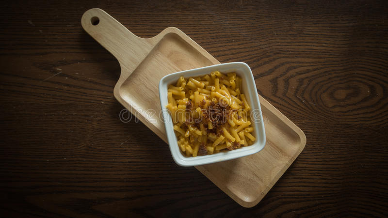 Mac und Käse lizenzfreie stockfotografie