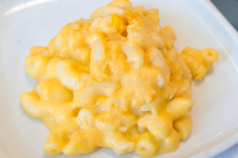 Mac und Käse stockfotografie
