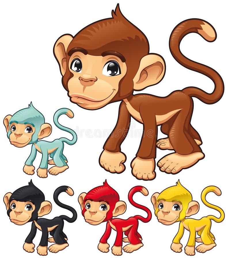 Macaco Engraçado. Foto de Stock