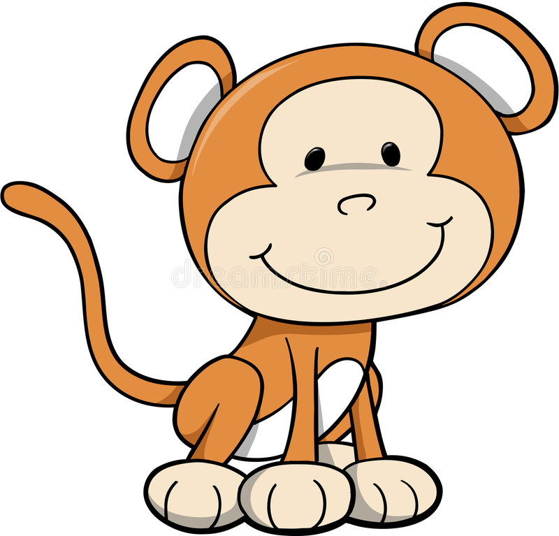 Macaco selvagem do safari