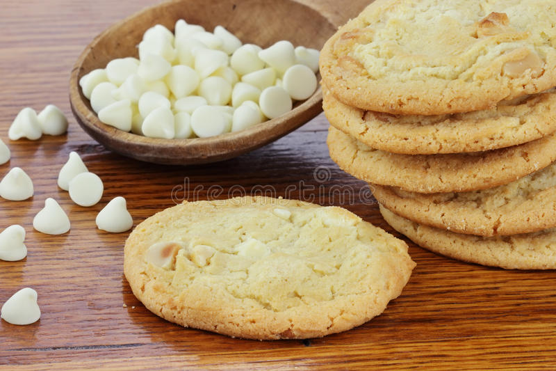 Download Macadamia Nut Cookies stock image. Image of chips, nobody - 17619549