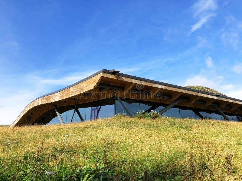 Macallan architektury whisky destylarnia Szkocja obraz royalty free
