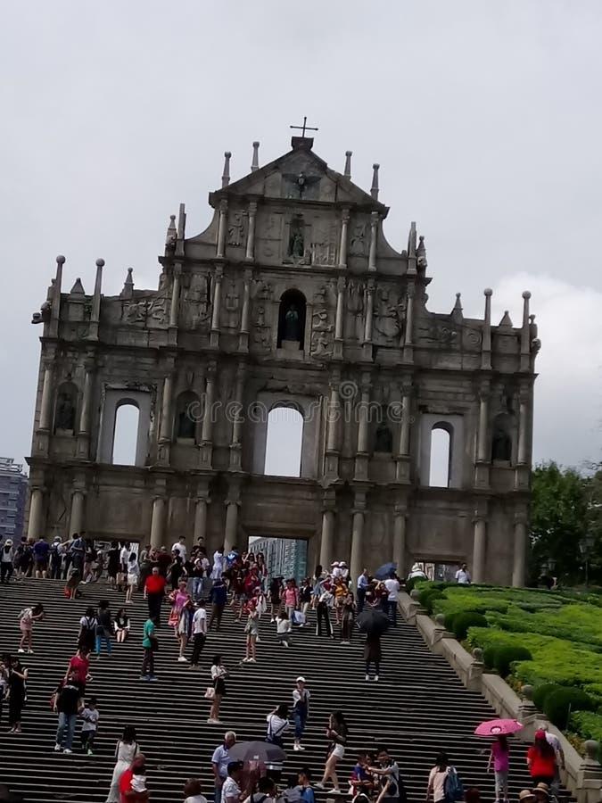 Macao-å¤§ä¸ ‰ å·' stockbild