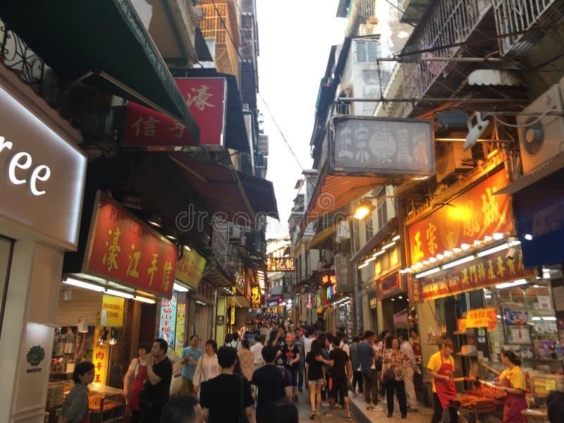 Macao royaltyfria foton