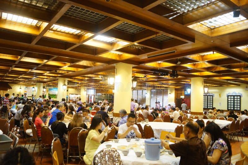 Macao, Cina: grande ristorante immagine stock