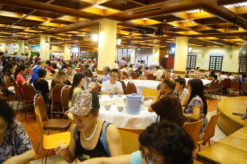 Macao, Cina: grande ristorante fotografia stock libera da diritti
