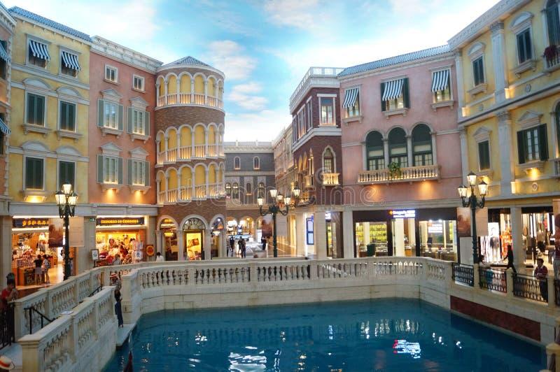 Macao, Cina: Località Di Soggiorno Di Venezia Fotografia Editoriale ...