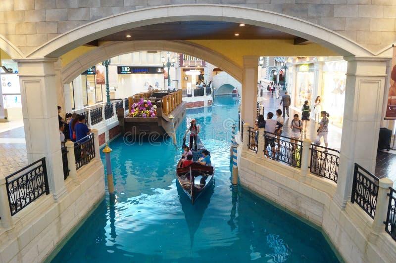 Macao, Cina: Località Di Soggiorno Di Venezia Immagine Editoriale ...