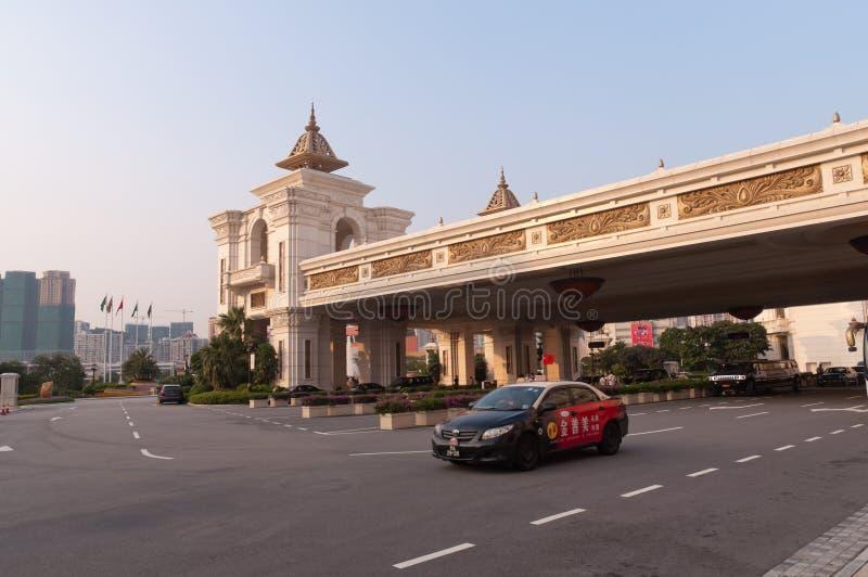 Macao - city scenery stock image