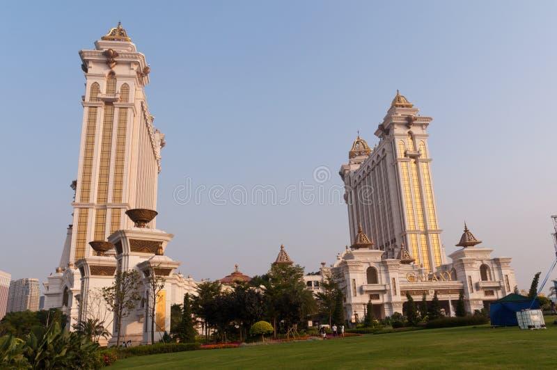 Macao - city scenery royalty free stock photography