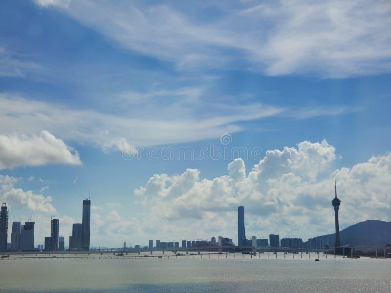 Macao cityview royalty-vrije stock fotografie