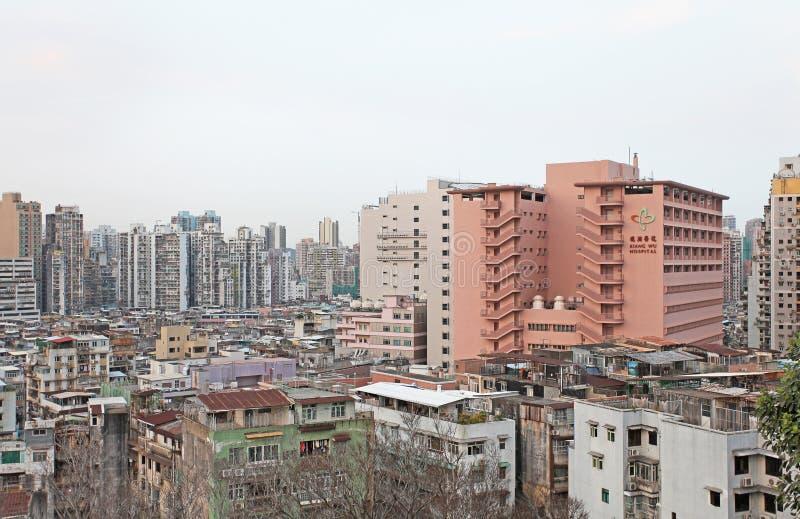 Macao horisont royaltyfri foto
