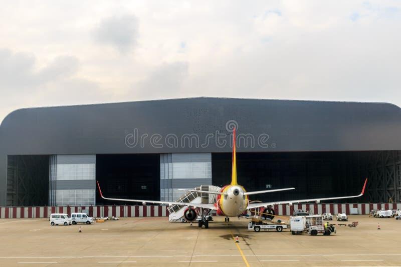 Macao internationell flygplats fotografering för bildbyråer