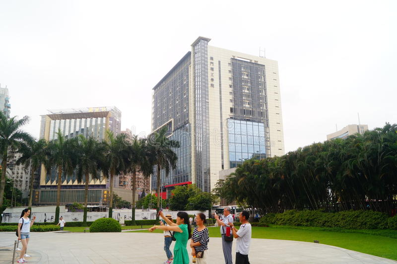Macao Kina: Lotus Square arkivfoto