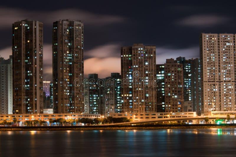 Macao na noite fotos de stock royalty free