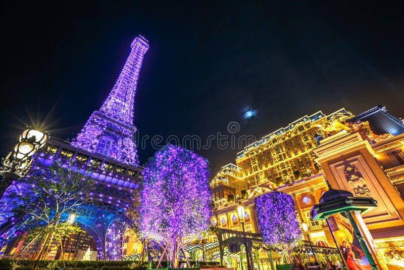 Macao parisien images stock