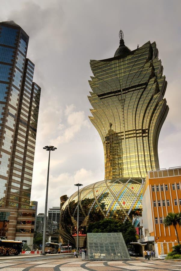Macao-Stadtbild stockfotografie