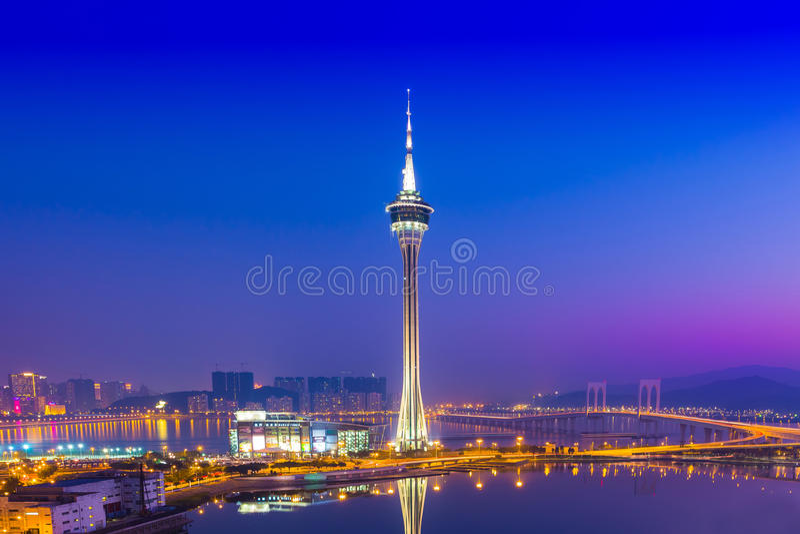 Macao-Turm stockfotos