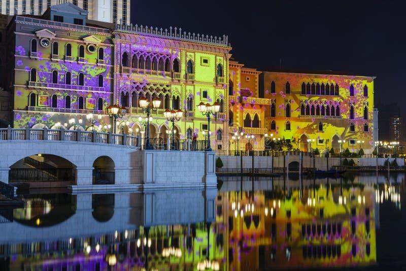 Macao veneziano immagini stock