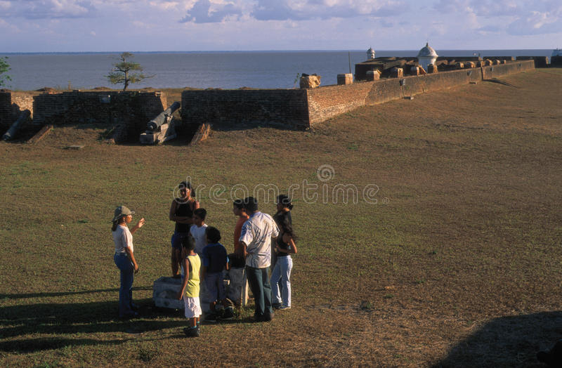 Macapa - Brazil. Fortress Sao Jose do Macapa (1782 ) MACAPA (AMAZONAS ) BRAZIL stock photo