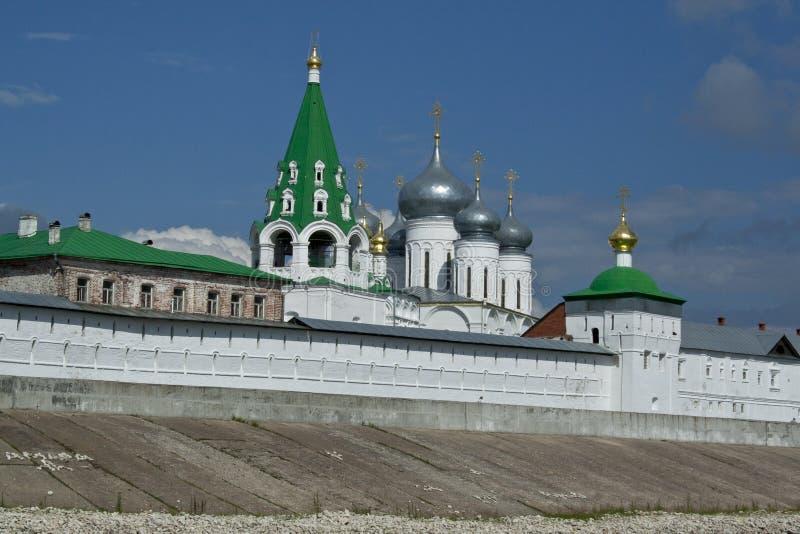 Macarius Monastery, fragment stock afbeeldingen