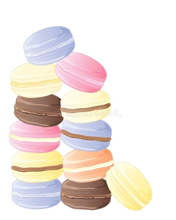 Macaron illustration libre de droits