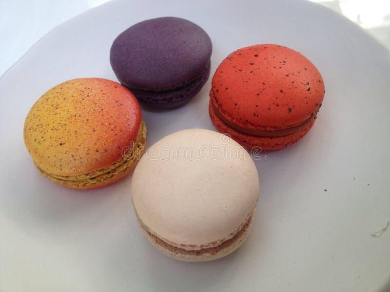 Macaron royalty-vrije stock foto's