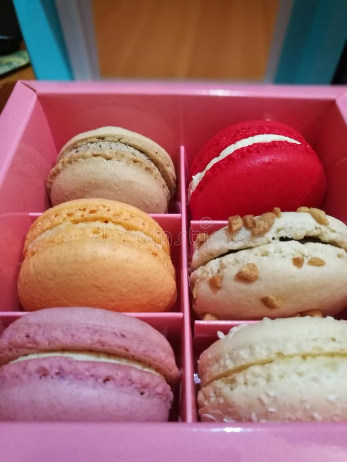 Macaron stockbild