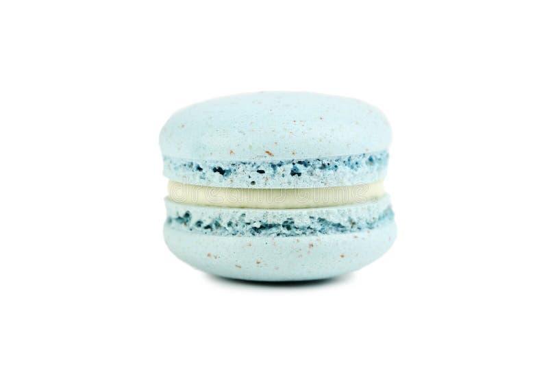Macaron azul imagem de stock