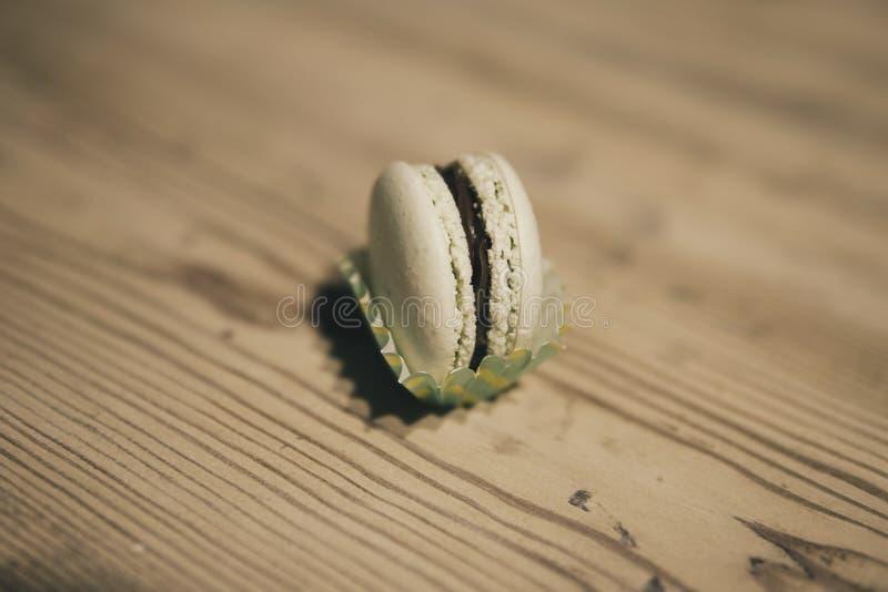 Macaron ciastka obrazy stock