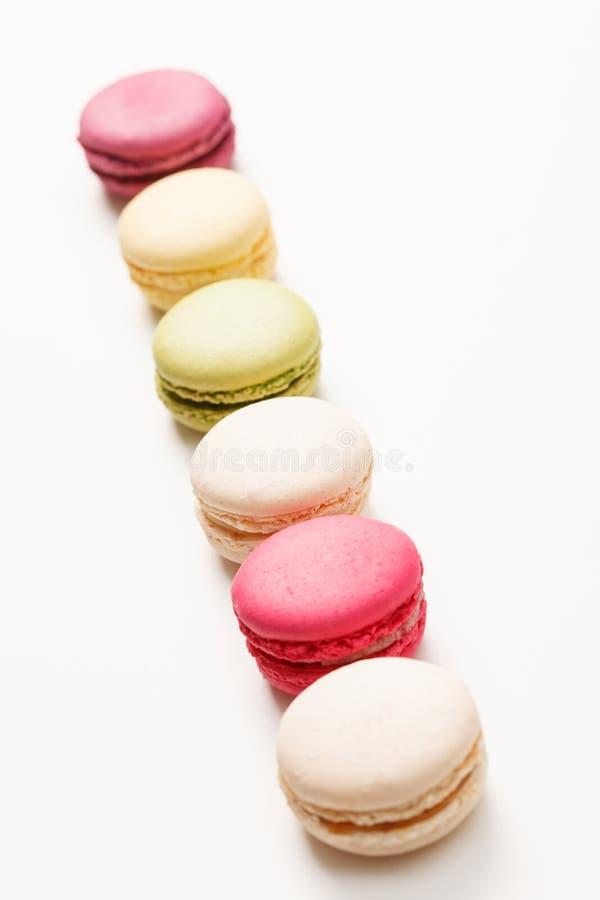 Macaron coloré savoureux photographie stock libre de droits